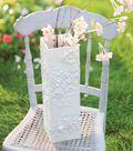 White Whimsy Vase