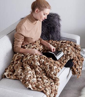 How To Make A Wavy Ridge Crochet Blanket