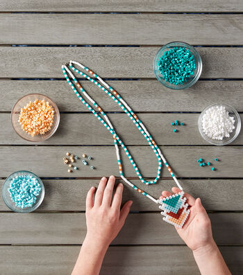 Make A Perler Bead Necklace