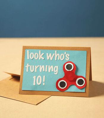 Make A Spinner Birthday Invite