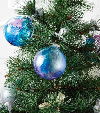 How To  Make Metallic Ornaments