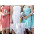 Country Chic Bridesmaid\u0027s Dresses and Bride\u0027s Dress
