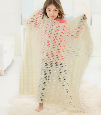 Hot To Crochet A Dreamy Lace Baby Throw