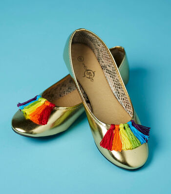 Make Rainbow Party Shoes