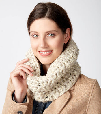 How To Make A Crossed Stitch Cowl to Crochet