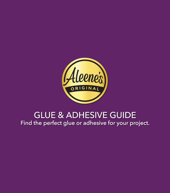 Buying Guide: Aleene's Glue & Adhesive Guide