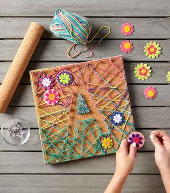Make Corkboard String Art