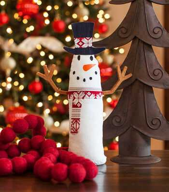 How To Make A Snowman Standing Stuffie