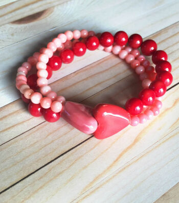 How to make a All Hearts Bracelet