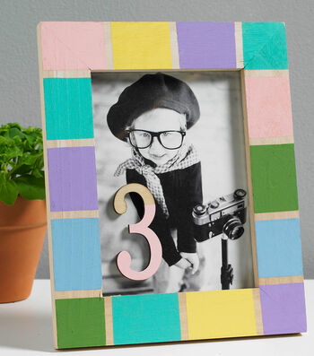 How To Make A Pastel Paint Set Frame