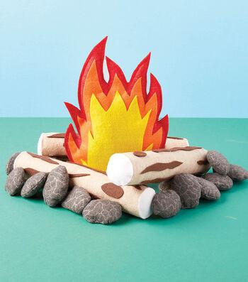 How To Make A Felt Campfire