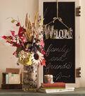 birch-covered vase & candle holder