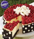 Pretty Polka Dot Cheesecake