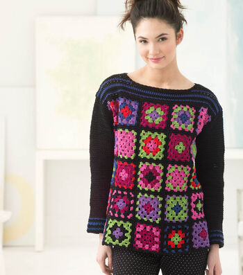 How To Crochet A Piccadilly Circus Pullover
