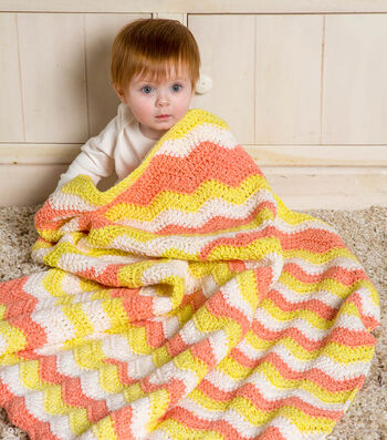 How To Make A Ripple Crochet Baby Blanket