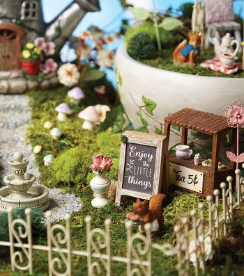 How to Make a Tea Fairy Garden