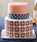 Pretty Patterned Fondant Cake How-To Sheet