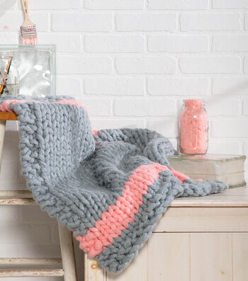 How To Make A Coral Accent Throw