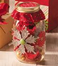 Snowflake Ornament Mason Jar