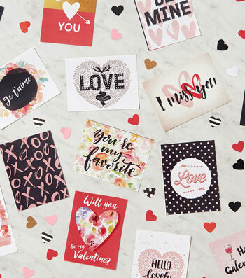 Printable Sharing Valentine's Day Cards