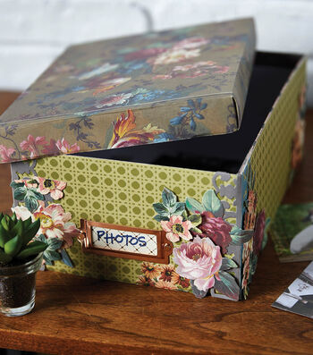 How To Make An Anna Griffin Embellished Photo Box