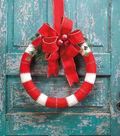 Candy Cane Stripe Wreath