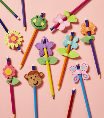 How To Make Pencil Toppers