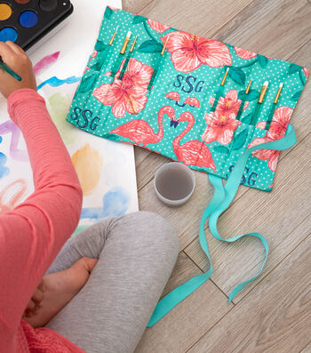 How to Make a Personalized Paint Brush Roll