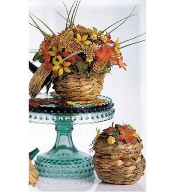 Mini Pumpkin Basket Arrangements