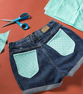 Make DIY Fabric Pocket Shorts