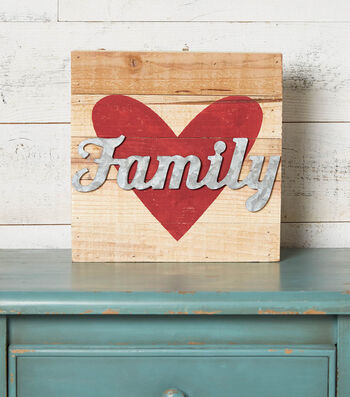 How to Make a Family Pallet