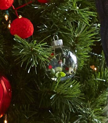 Glass Bulb Filled Ornaments