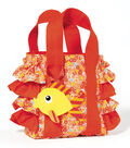 Little Girls Ruffle Tote