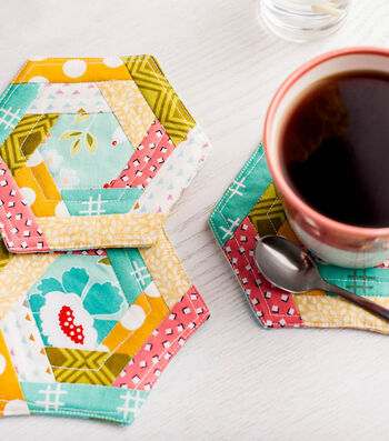 How To Make Color Wheel Coasters