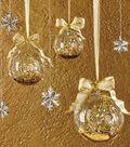 Gold Glitter Luminary Terrariums