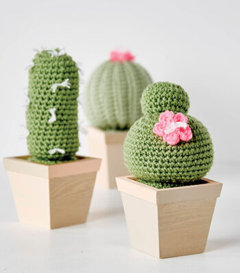 Make A Crochet Cactus