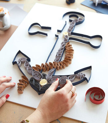 How To Make A Paper Quilling Anchor