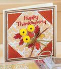 Martha Stewart Fall Clay Mold Card