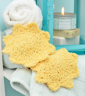 How To  Crochet A Set of Suns Scrubby