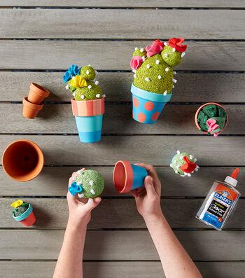 Make Styrofoam Cactus