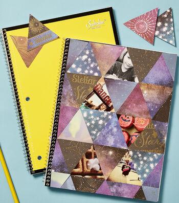 How To Make A Personalized Spiral Notebook