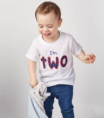 How To Make A I'm TWO T-Shirt