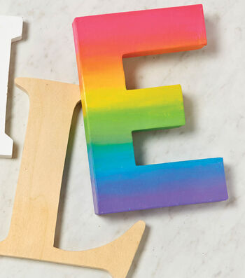 Ombre Painted Letter
