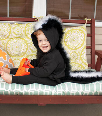 How To Make A Fluffy Skunk Costume