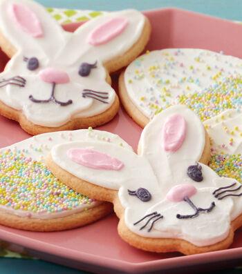 Bake Fun Bunny Face and Egg Cookies