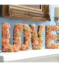 Filled Floral Love Letters