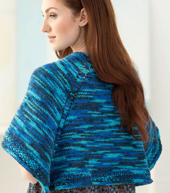 How To Knit A Wrapsody In Blue