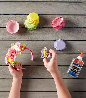 Make A Cupcake Liner Princess Headband