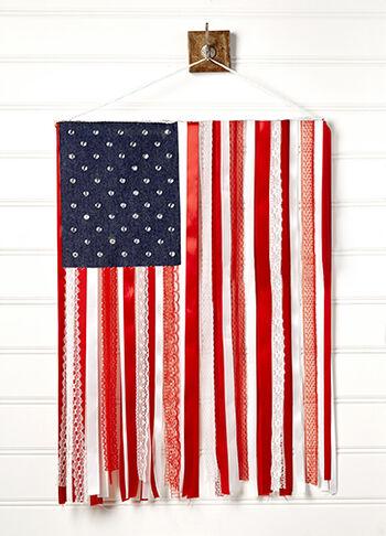 USA Ribbon Flag