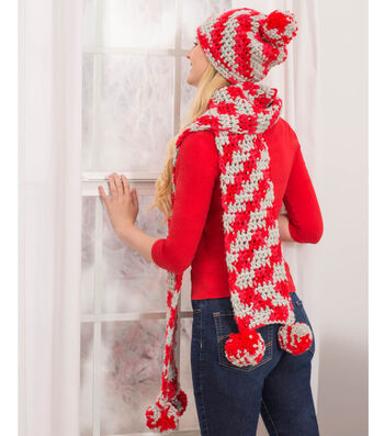 How To Crochet Sports Fan Hat and Scarf